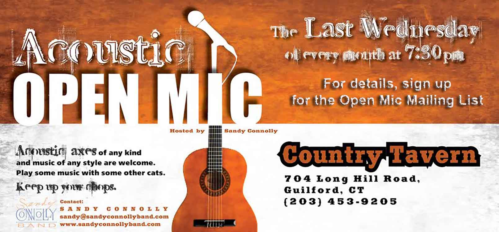Acoustic Open Mic at the CT